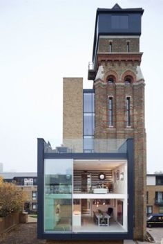 Watertower in London