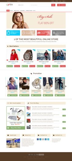 HTML5 - B2C - Bootstrap - GIFTY