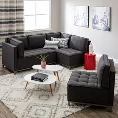 Ink+Ivy Grant Modular Sectional