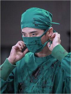 Lee Jong Suk in Doctor Stranger.