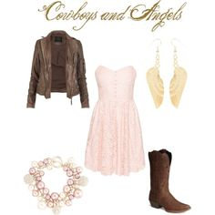 """""""Cowboys and Angels"""" by allybomb on Polyvore"""