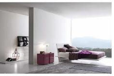 Presotto - white and aubergine. Products available through Selene. www.selenefurniture.com