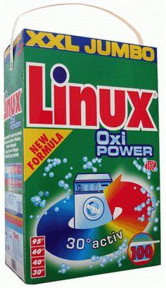 Sabão em pó Linux.