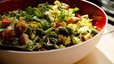 Salat, Schüssel, Grün, Tomate