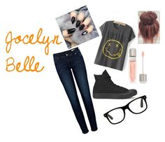 """""""My Style"""" by jocelynbelle on Polyvore featuring Anine Bing, Converse and Lancôme"""