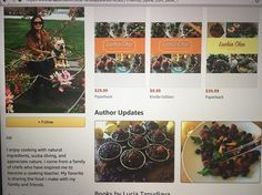 Luchia Chia Cookbook is on Amazon.com Now with Healthy Eating with Organic Ingredients #luchiacookbook is on #amazon.com #luchiachia #cookbook #amazonprime #chef #culinarychef #culinary #cheflife #chefsofinstagram #chefconsultant #cooking #organic #healthyfood #healthy #amazing #healthyeating #healthylife is #beautiful #healthyliving #foodblogger #foodmagazine #foodie #delicious #stanford #siliconvalley #bayarea #sanfrancisco #california #photooftheday