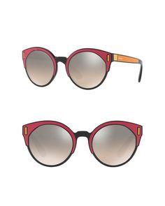 df9a105647d Lyst - Prada 53mm Cat Eye Sunglasses in Brown Cat Eye Sunglasses
