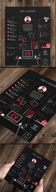 CV Graphic Designer on Behance