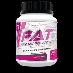 FAT TRANSPORTER: Kompleks aktywatorów przyspieszających przemianę materii i spalanie tłuszczu   Przyspiesza przemianę materii Zwiększa produkcję energii z tłuszczu Chroni wątrobę, stabilizuje poziom lipidów