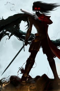 I like how this combines Alucard and the count