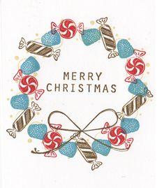 新作いろいろ!ブラウン家のクリスマスカード作り : from MB in SD