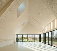 Kulturzentrum in der Normandie, AAVP, tanzraum