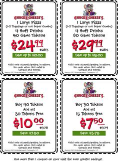 Chuck E Cheese PARTY PACKAGE Personalized by TwentyToesDesigns