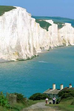 Seven Sisters, Eastbourne, East Sussex, England - The White Cliffs of Dover