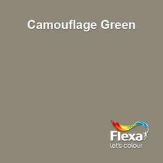 Flexa Creations kleur: Camouflage Green