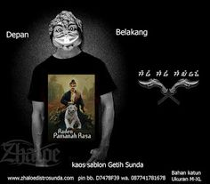 Kaos Sunda Raden Pamanah Rasa
