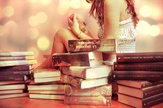 Meine Liebe für Bücher.