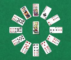 Clock Solitaire Patience card games