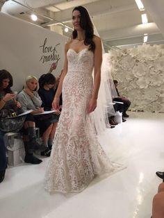 Wedding dress with Pink undertones