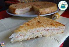 Frittata+di+riso+filante+-+ricetta+al+forno+-