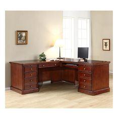 Beautiful L-Shape Computer Desk