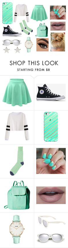 """""""Mint"""" by briannamoss9 on Polyvore featuring LE3NO, Casetify, SoGloss, Vera Bradley, CLUSE, Yves Saint Laurent and Jennifer Meyer Jewelry"""