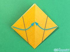 折り紙で花瓶の折り方手順10