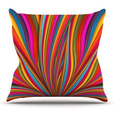 Found it at AllModern - Believer by Danny Ivan Throw Pillow
