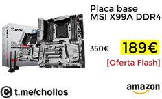 Placa base MSI X99A DDR4 por 189 - http://ift.tt/2wAoxTK
