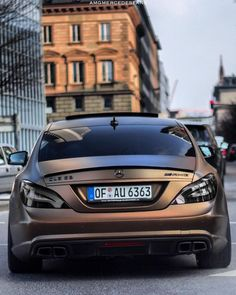 #AMGMercedesFans — Bronzed CLS63 AMG ! What Do You Think ?! :...
