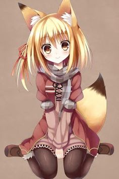 Kitsune: Half-fox/Half-human