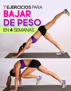 Exercises transform your body in 4 weeks. Abdomen exercises Ex Losing Weight Tips, Best Weight Loss, Weight Loss Journey, Lose Weight, Fitness Journal, Easy Workouts, Weekly Workouts, Health Motivation, Workout Challenge