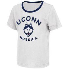 Juniors' Campus Heritage UConn Huskies Packed Powder Tee, Women's ...