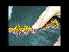 Video - How to do Huck/Swedish Weaving