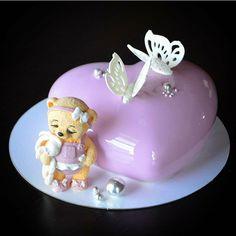 Heart Cakes, Snow Globes, Decor, Decoration, Decorating, Deco