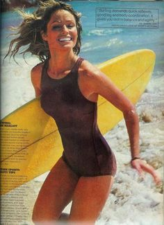 #Farrah Fawcett retro summer 1970's. #Travel Sport USA multicityworldtravel.com We cover the world over 220 countries, 26 languages and 120 currencies Hotel and Flight deals.guarantee the best price