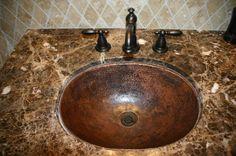 20 Copper Bathroom Sinks Ideas Copper Bathroom Copper Sink Bathroom Copper Sink