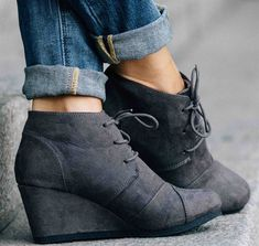 Must Have Fall Wedges 6 Colors 2299 on Women's Shoes, Zapatos Shoes, Fall Shoes, Cute Shoes, Me Too Shoes, Shoe Boots, Wedge Shoes Outfits, Wedge Dress Shoes, Wedges Outfit