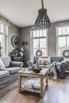 """This comfortabel living room is from our feature """"Dare to Dream"""""""