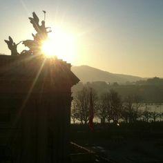 Blick aus dem Büro, 14.3.2012, 17:47 Uhr