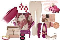 """Plum Pretty"" by laaudra-rasco ❤ liked on Polyvore"
