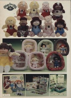 I completely forgot about the Cabbage Patch Pets and the Miniature Cabbage Patch Dolls!