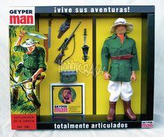 Geyper Man Explorador de la jungla 7081 - Geyperman reedición - Geyper - Hobbycrash