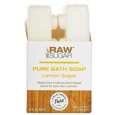 Raw Sugar Bar Soap Lemon Sugar : Target
