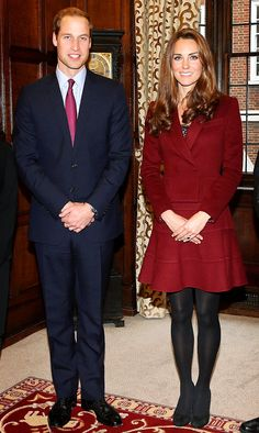 Catherine, Duchess of Cambridge and Prince William, Duke of Cambridge visit Middle Temple on October 8, 2012 in London, England.