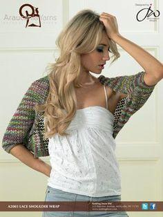 Free A2003 Calbuco Lace Shoulder Wrap
