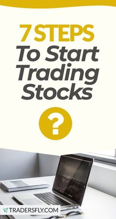 Stock Market - Check out these 7 steps to start trading stocks! Stock Market Investing, Investing In Stocks, Stock Market Basics, Dividend Stocks, Stock Charts, Knowledge And Wisdom, Educational Videos, Trading Strategies, Make More Money