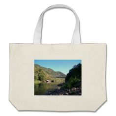 Old New River George Bridge Tote Bags!  There's a great selection of styles to choose from.  Starting around $22 this bag is very affordable!