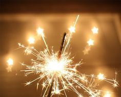 sparklers! now these bring back memories.....