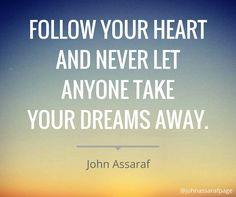 Media Tweets by John Assaraf (@johnassaraf)   Twitter John Assaraf, Follow Your Heart, Quotes And Notes, Motivation Inspiration, Bestselling Author, Dreaming Of You, Affirmations, Texts, Let It Be
